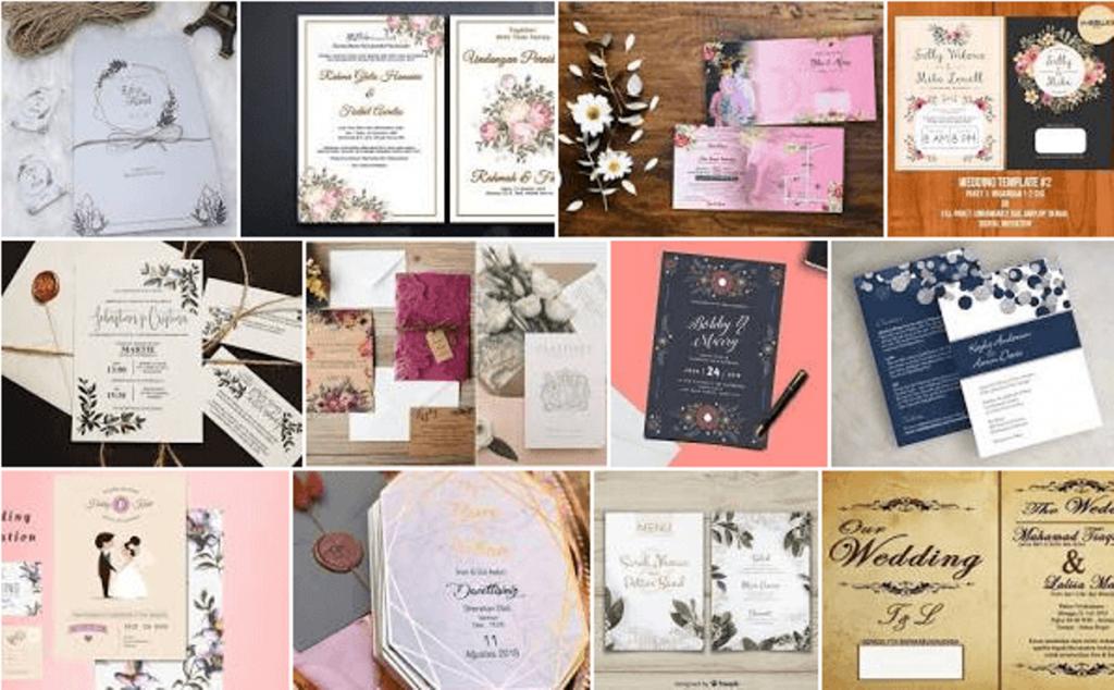 Inspirasi Konsep Desain Undangan Pernikahan Yang Unik dan Keren